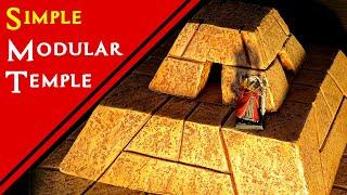 Crafting A Miniature Pyramid For D&d  Tabletop Terrain Tutorial