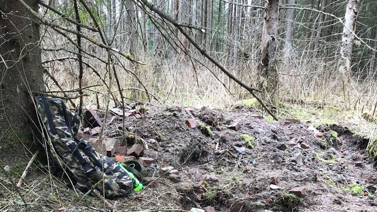 Много монет на фундаменте. Шурф в лесу 1 серия - YouTube  Шурф В Бурении
