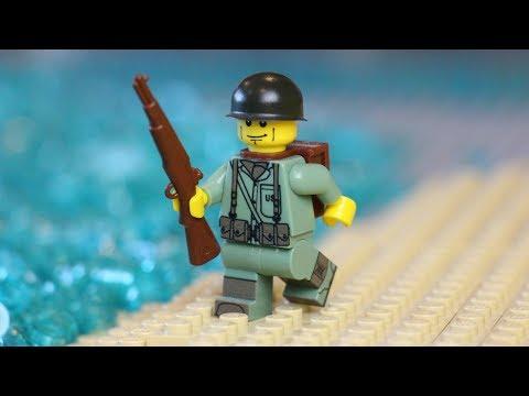 LEGO HAUL #98 - World War 2 Marine Parts!