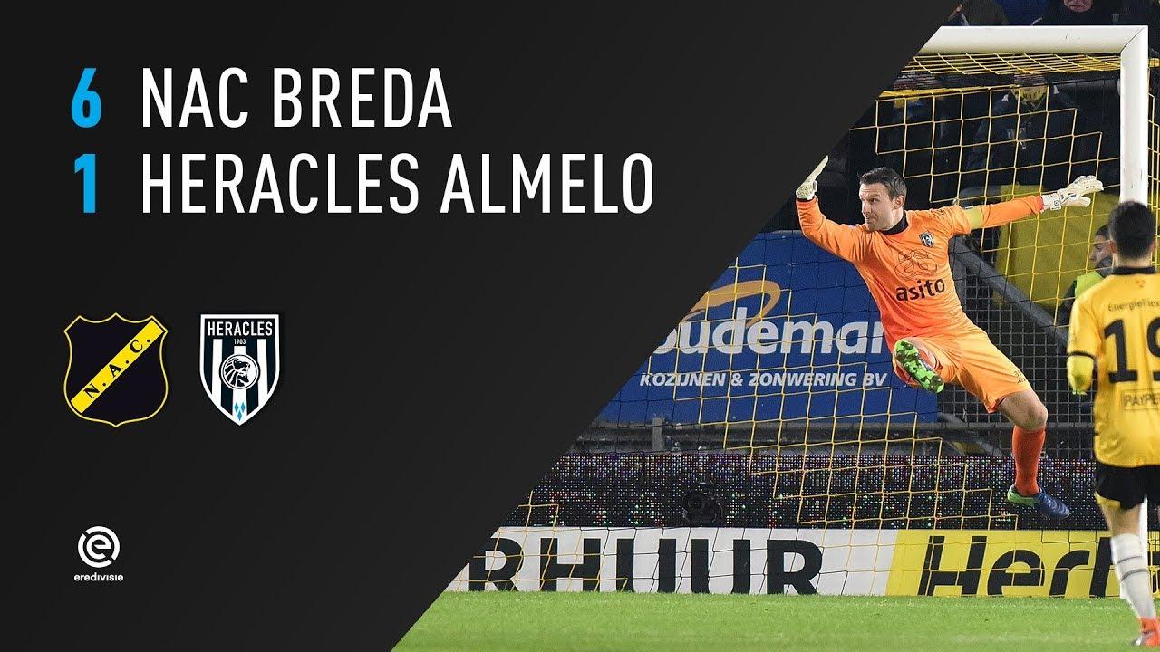 NAC Breda - Heracles Almelo 6-1 | 07-02-2018 | Samenvatting