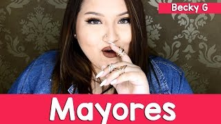 Mayores - Becky G Cover By Susan Prieto