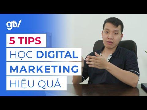 5 Tips Tự học Digital Marketing hiệu quả - Kinh nghiệm đúc kết sau hơn 5 năm.
