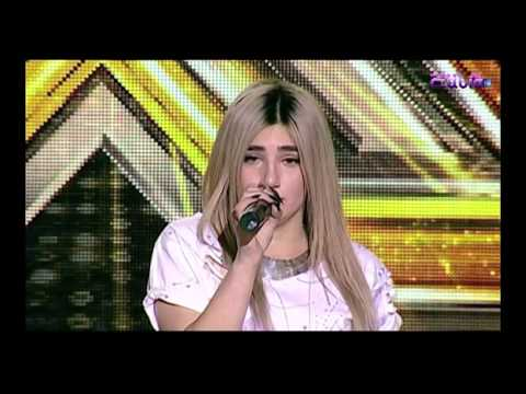 X factor Armenia Monika Mirzoyan 22 01 2017 (John Legend - All of Me)