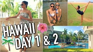 HAWAII - Traveling, Bonfire w/ Locals, Beach & More! Day 1 & 2!