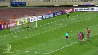 تصدي قاسم برهان لركلة الجزاء | برسبوليس الإيراني 0 - 0  لخويا | دوري أبطال آسيا 2017