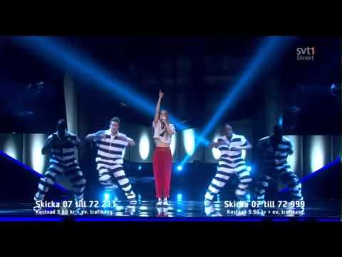 Ace Wilder - Busy Doin' Nothin' (Melodifestivalen 2014)