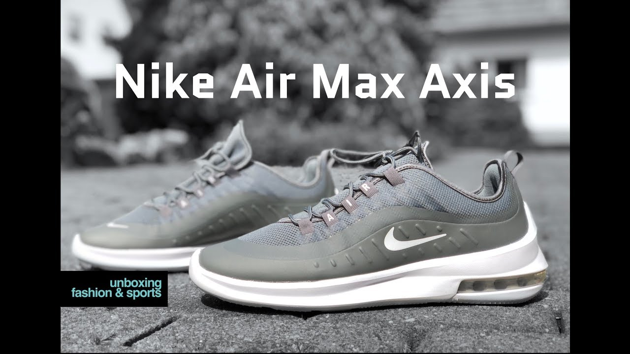 NIKE Nike men sneakers shoes AIR MAX AXIS Air Max axis black white (AA2146 003 SU18)