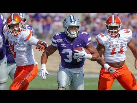 Bowling Green vs Kansas State Football Highlights
