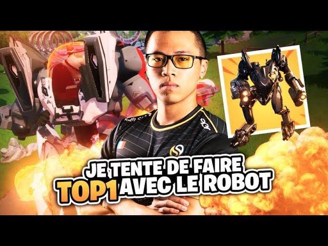 JE TENTE DE FAIRE TOP 1 AVEC LE NOUVEAU ROBOT DE LA SAISON 10