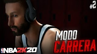 NBA 2K20 Modo CARRERA | PROBLEMAS CON EL DRAFT - Episodio 2