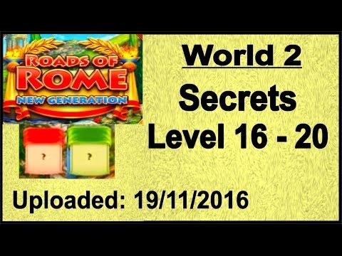 Roads of Rome - New Generation (PC) Geheimnisse, Secrets 16 - 20