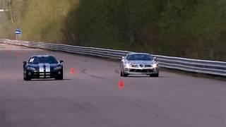 Mercedes McLaren SLR vs Dodge Viper Supercharged