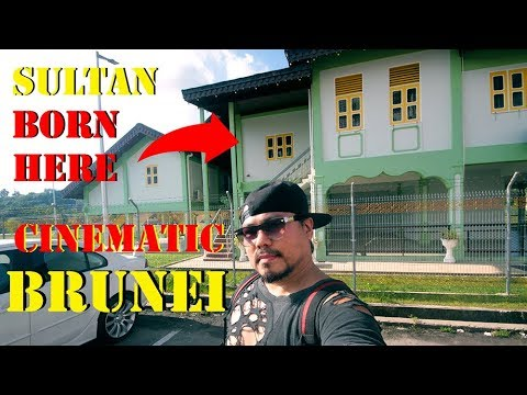 SULTAN of BRUNEI Was Born Here In This Old House - Cinematic
