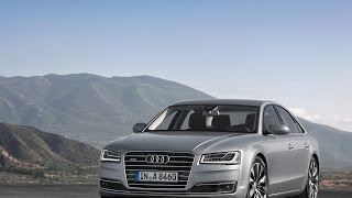 Audi A8 D4 рестайлинг 2013 седан