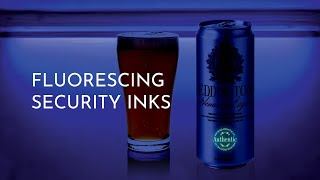 Fluorescing Security Ink