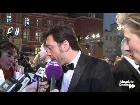 Javier Bardem interview at Skyfall James Bond world premiere in London 23rd October 2012