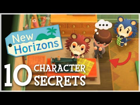 Animal Crossing New Horizons - 10 Character SECRETS You Missed!