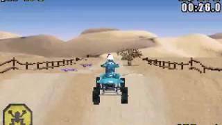 ATV - Quad Power Racing (GBA)  - Vizzed.com GamePlay Mynamescox44 (LongPlay)