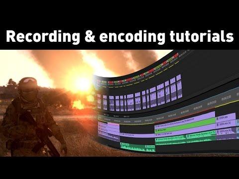 Recording & encoding tutorials