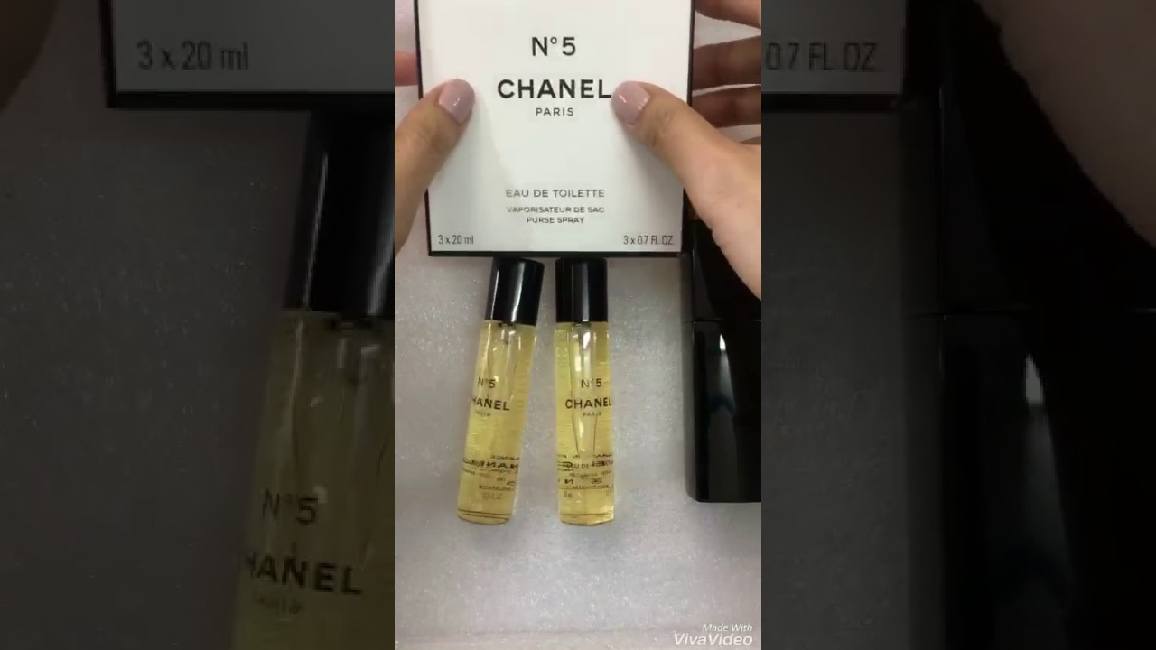 f8708310f36 Review CHANEL N.5 EDT PURSE SPRAY - YouTube