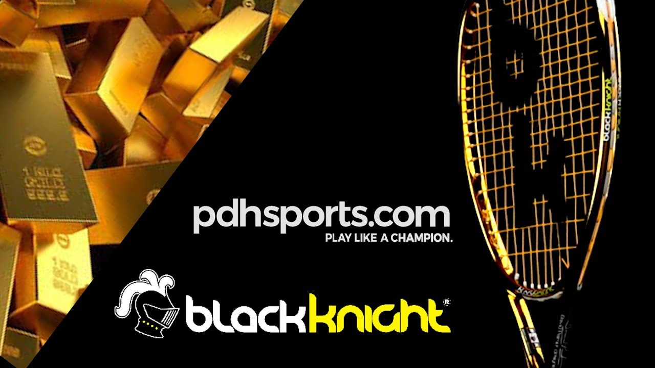 Black Knight Ion Storm Squash Racquet