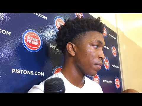 Pistons' Stanley Johnson updates his condition