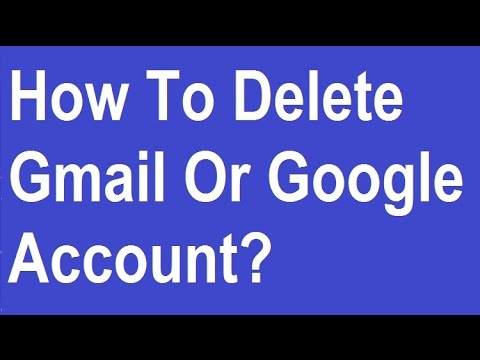 how to permanently delete google account