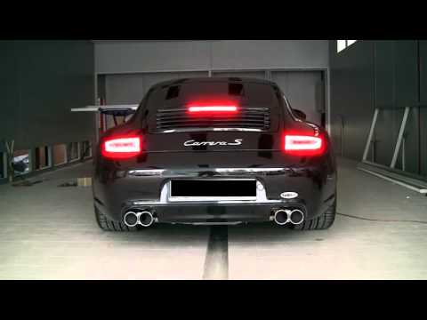 Porsche 997 Carrera S PDK With Tubi Style Exhaust System