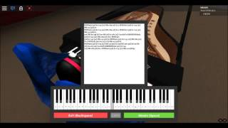 Roblox Piano: Fur Elise by: beethoven
