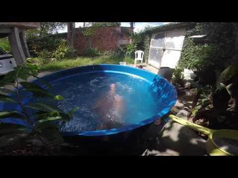 Piscina caixa da gua 2016 gopro youtube for Piscinas rigidas baratas