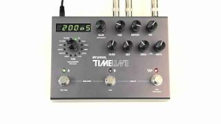 Strymon TimeLine - Ice Delay Machine audio clips