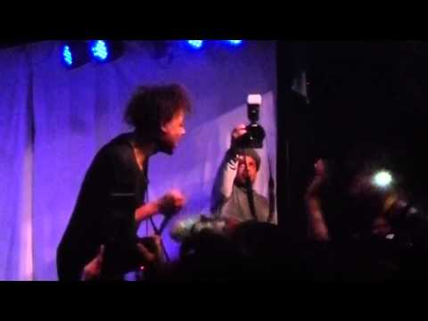 Danny Brown - Molly Ringwald (HD) Live at Knitting Factory in Brooklyn, NYC 3-21-13