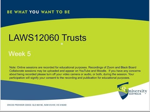 LAWS12060_05_2017 Trusts: The Trustee