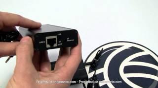 Extensor HDMI por cable UTP (150m a 1080p 2xUTP) distribuido por CABLEMATIC ®