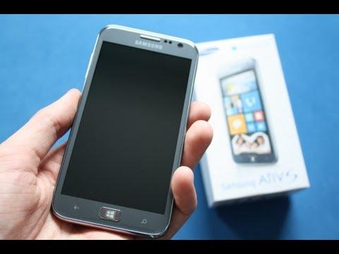 Samsung Ativ S - Unboxing deutsch