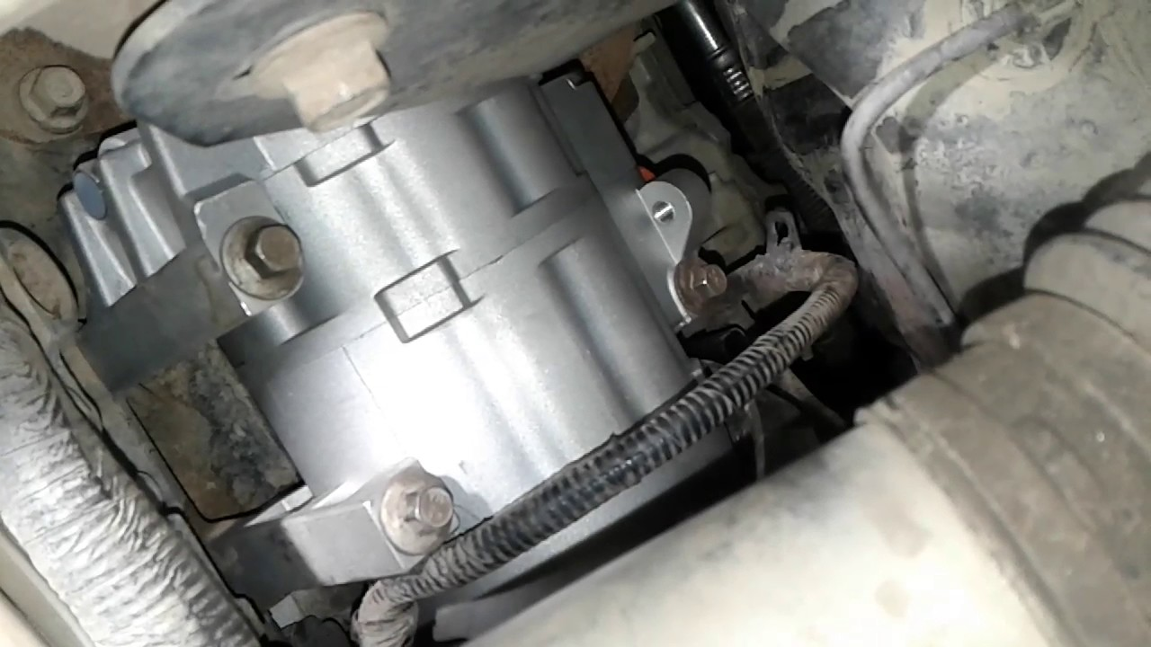 change    ac compressor removal youtube