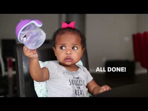 Interview With A 10-Month-Old | How To Use A Sippy Cup