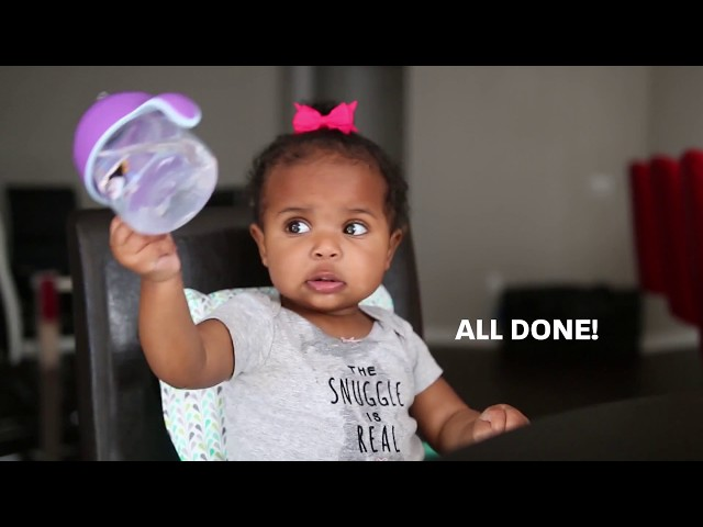 New Father Chronicles - Interview With A 10-Month-Old | How To Use A Sippy Cup