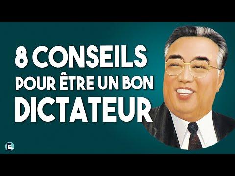 8 conseils pour devenir un bon dictateur !