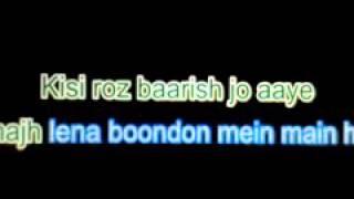 Main Rahoon ya Na Rahoon Karaoke Song