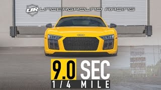 Underground Racing Audi R8 1/4 ET World Record