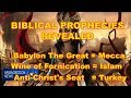 watch he video of AntiChrist, Mecca and Islam are Prophesied in the Holy Bible!