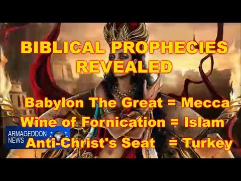 AntiChrist, Mecca and Islam are Prophesied...