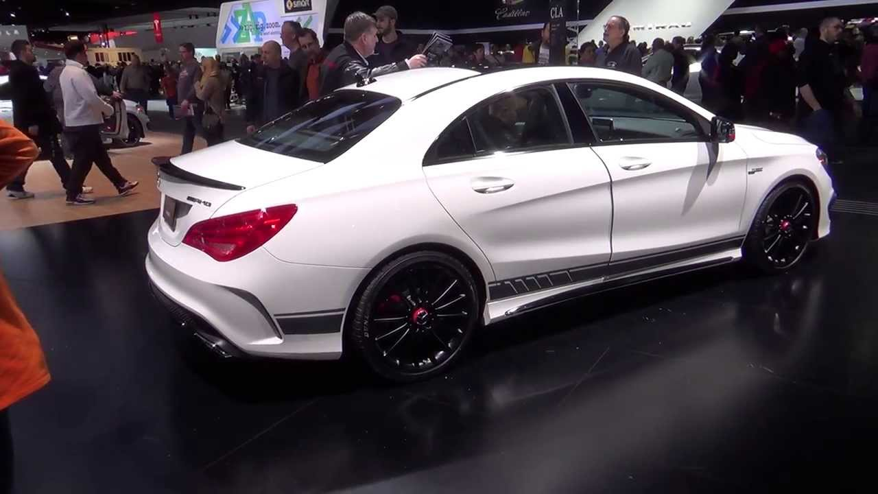 mercedes-benz cla45 amg edition 1 walkaround and m133 engine - youtube