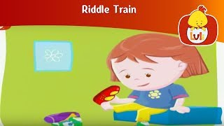 Riddle Train 2, for kids - Fun educational animation