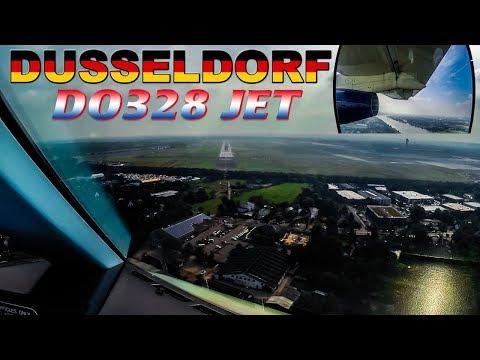 Pilot & Wing Views into DUSSELDORF