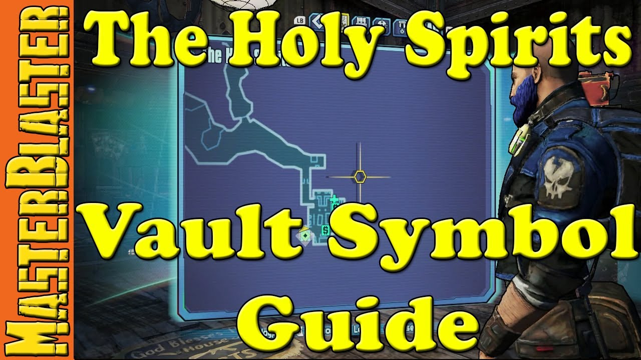 Borderlands 2 The Holy Spirits Cult Of The Vault Symbol Challenge