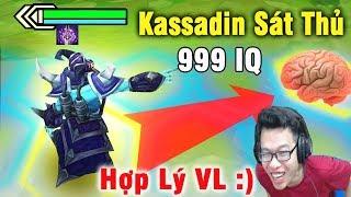 Kassadin 999 IQ | Biến Thành SÁT THỦ Hợp Lý Vãi Nồi - Đấu Trường Chân Lý | Lol Auto Chess