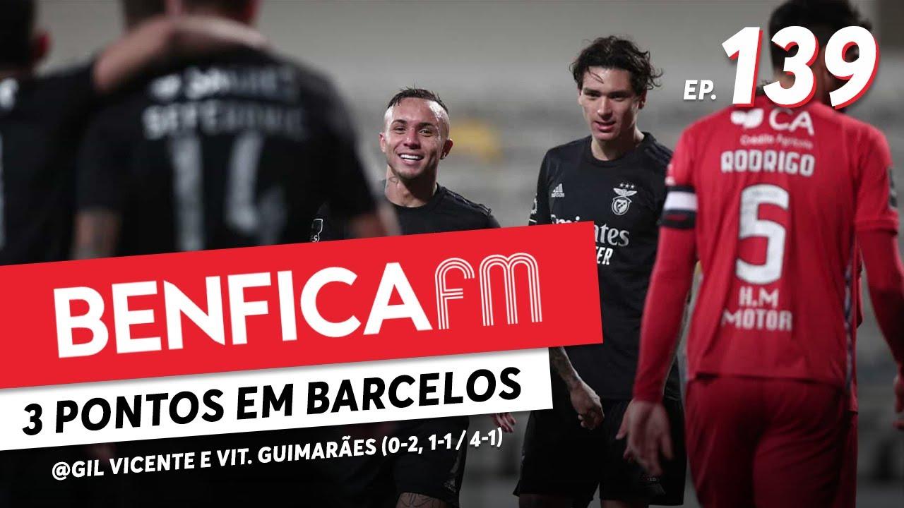 Benfica FM #139 - @Gil Vicente e Vit. Guimarães (0-2, 1-1 / 4-1) Gordo, vai à baliza