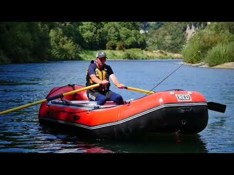 Mohaka River Raft Fishing/RED Raft Trialling